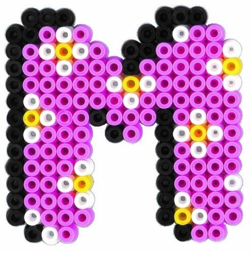 Hama 3424 Perlenset Buchstaben Ca 2000 Bügelperlen 1