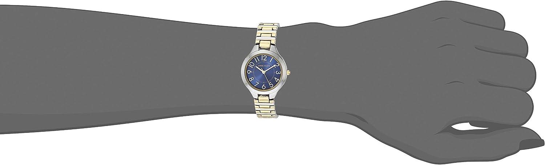 Anne Klein Dress Watch (Model: AK/3109NVTT) Two Tone/Navy