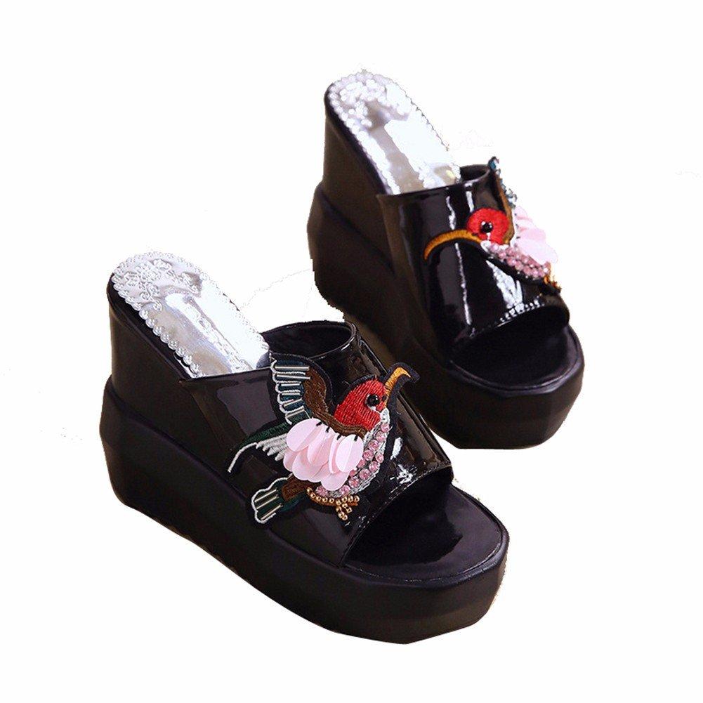 YUCH Strand von Schuhe Frauen Schuhe von Sommer Dick Slip Rutschhemmend Sandalen f0643a
