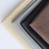 MorningRising Speaker Cloth Stereo Gille Fabric Speaker Mesh Cloth for Audio Black