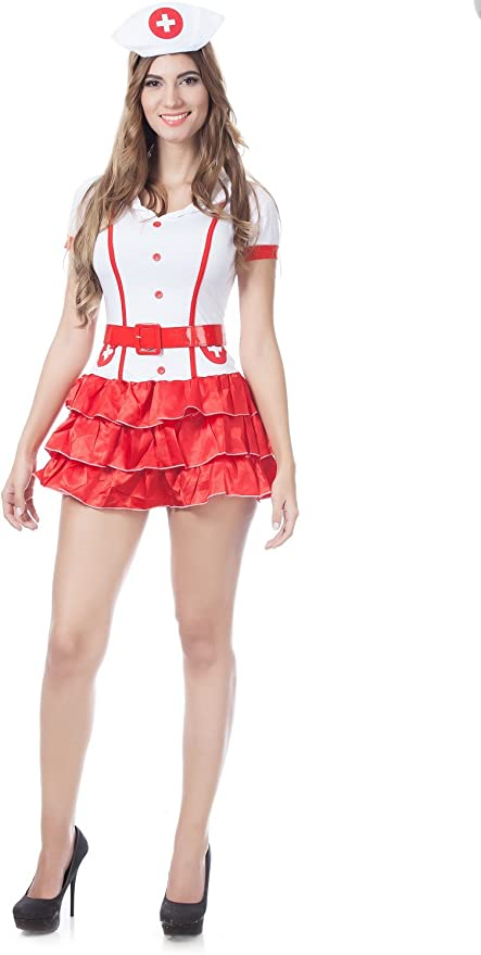 SEXY ADULT NAUGHTY NURSE OUTFIT UNIFORM 999 LADIES FANCY