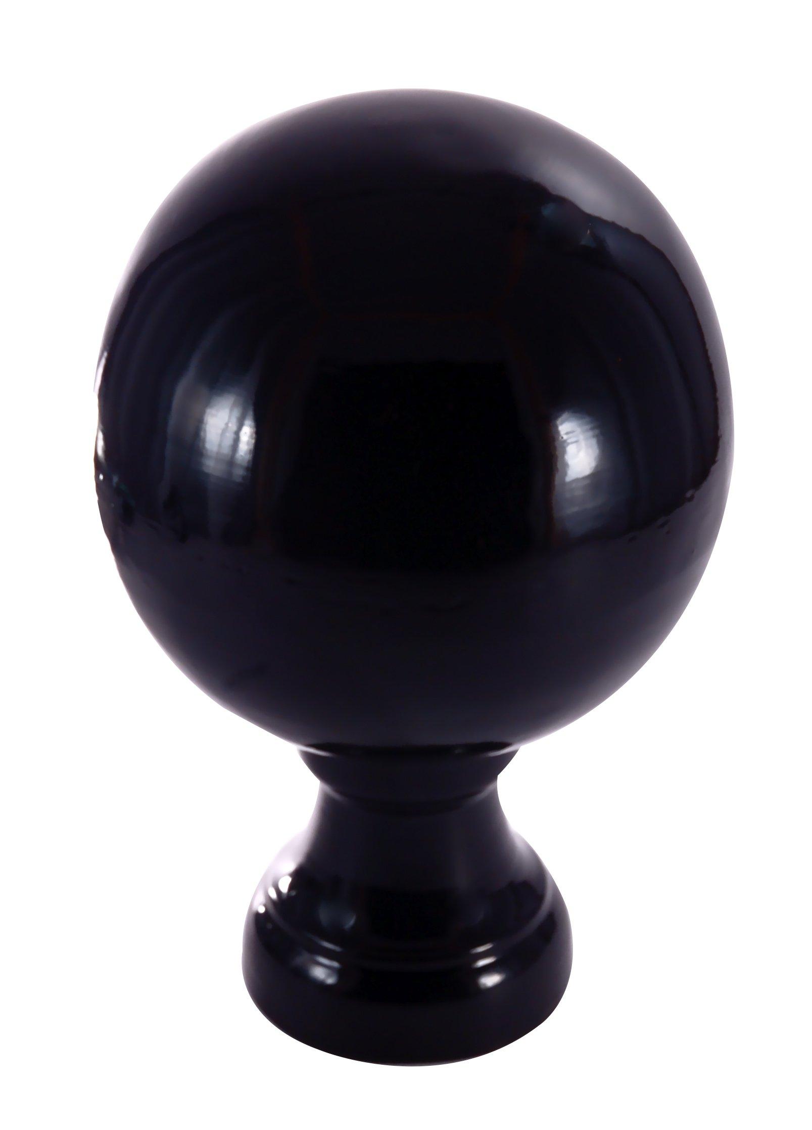 Dalvento Small Londoner Finial- Black Gloss by Dalvento (Image #1)