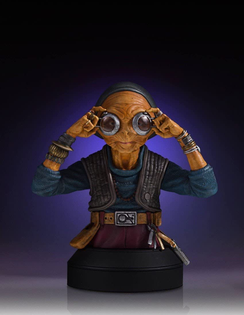 Gentle Giant Suave Gigante Star Wars Maz Kanata Mini Busto: Amazon ...