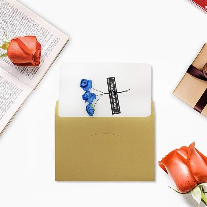 para personas especiales u ocasiones importantes tarjetas de cumplea/ños tarjetas de agradecimiento tarjetas de regalo universales Dylan-EU 4 tarjetas de felicitaci/ón de color blanco con 4 sobres