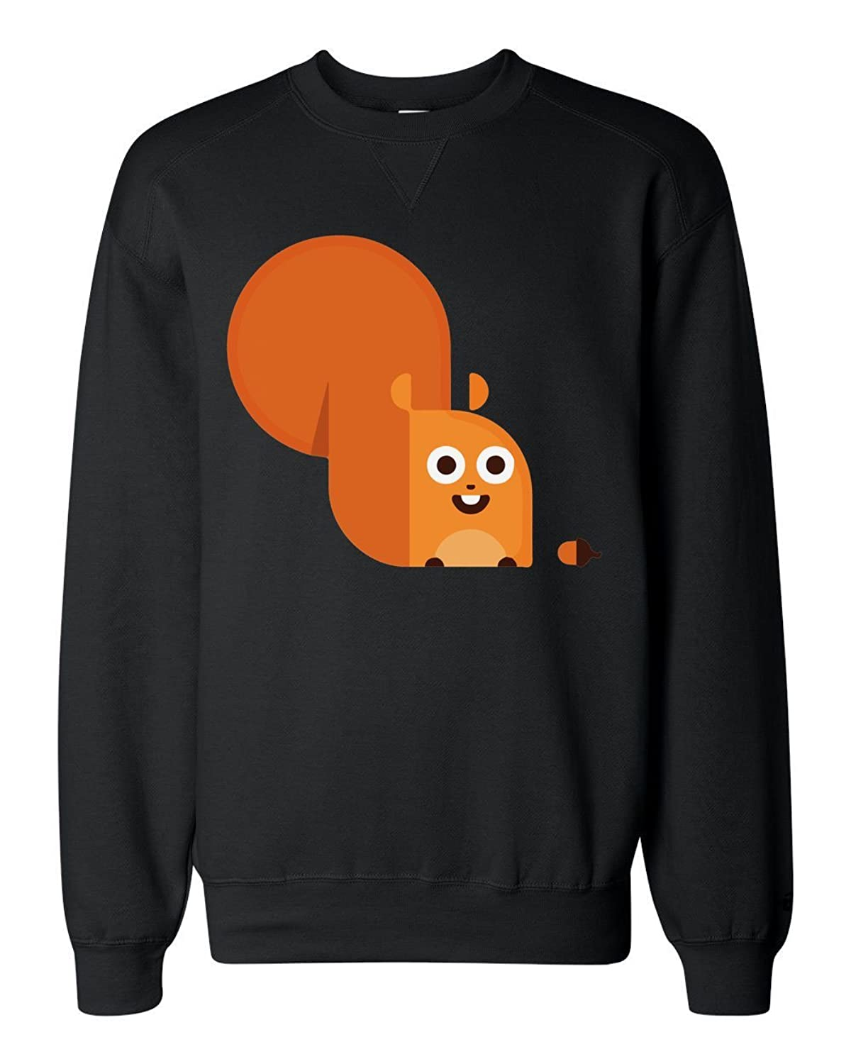 well-wreapped Cheerful Squirrel With A Huge Tail Sudadera clásica Unisex  Sweatshirt