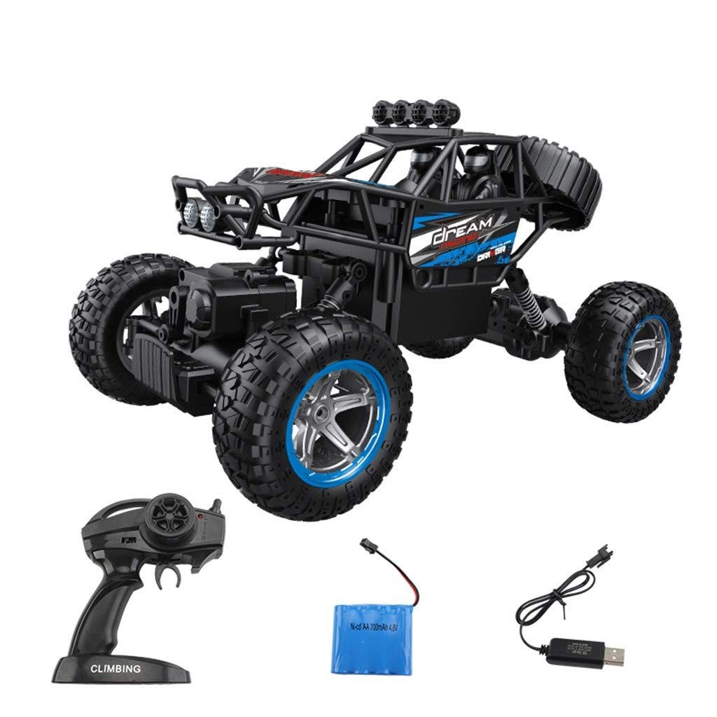 Hot  RC Car Toys for Kids Age 8 1:14 2.4G Remote Control Off-Road Vehicle Truck High Speed RTR Buggy RC Car Great Gift for Kids and Friends (♥ Blue)