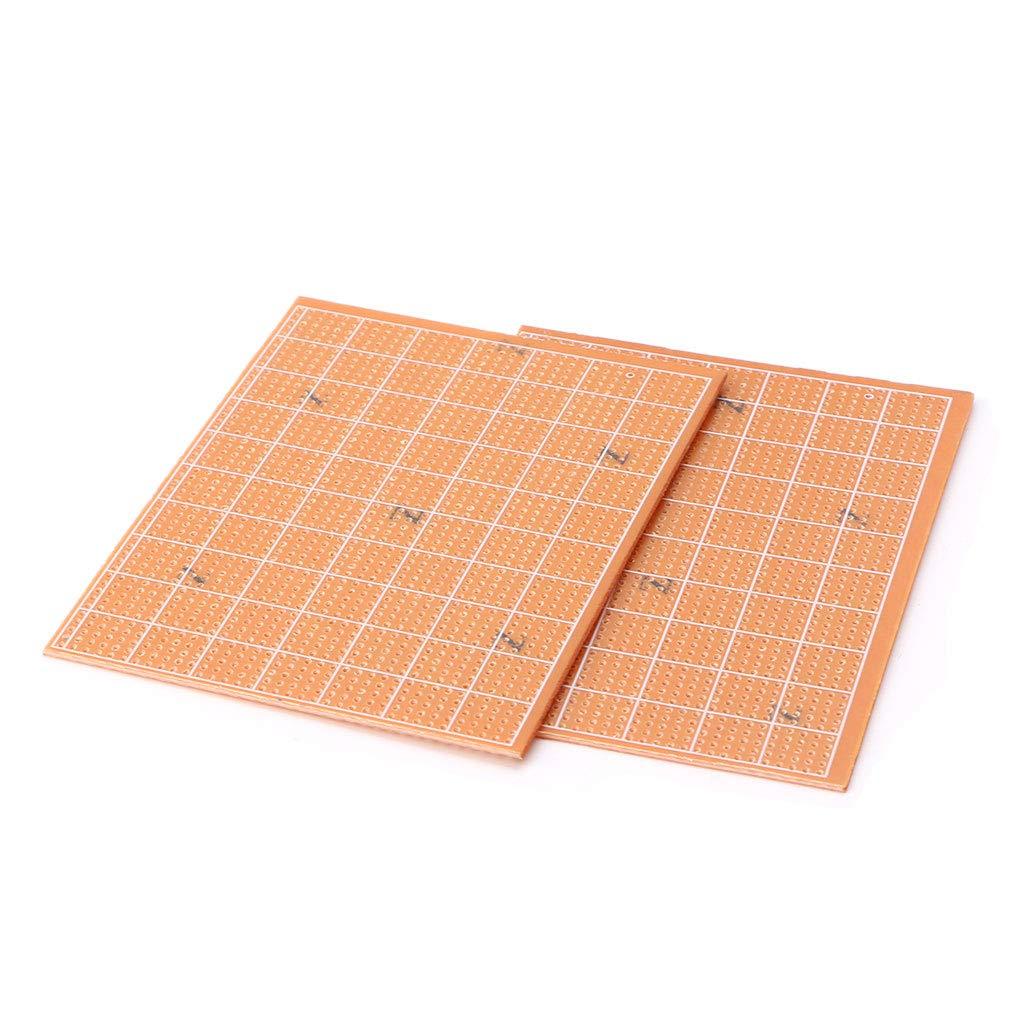 5 Piezas Placa de Circuito el/éctrica Universal Placa de Circuito de prototipos PCB -2.5 * 6.4 cm YoungerY