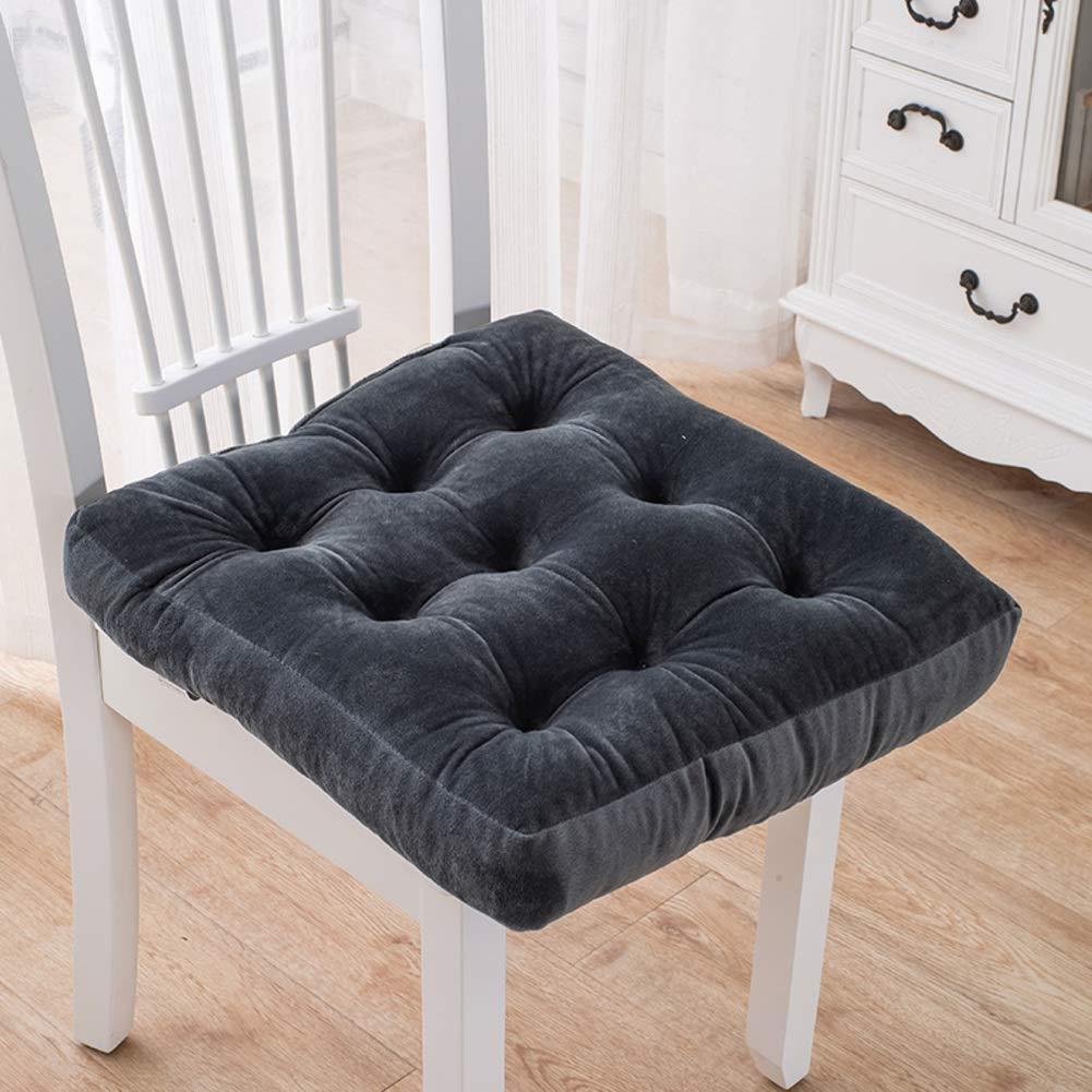 Comida gruesa felpa amortiguador amortiguadores amortiguador taburete butt asiento pad oficina cojín asiento butt futón mat-taobao-G 50X50X8cm cac6e5