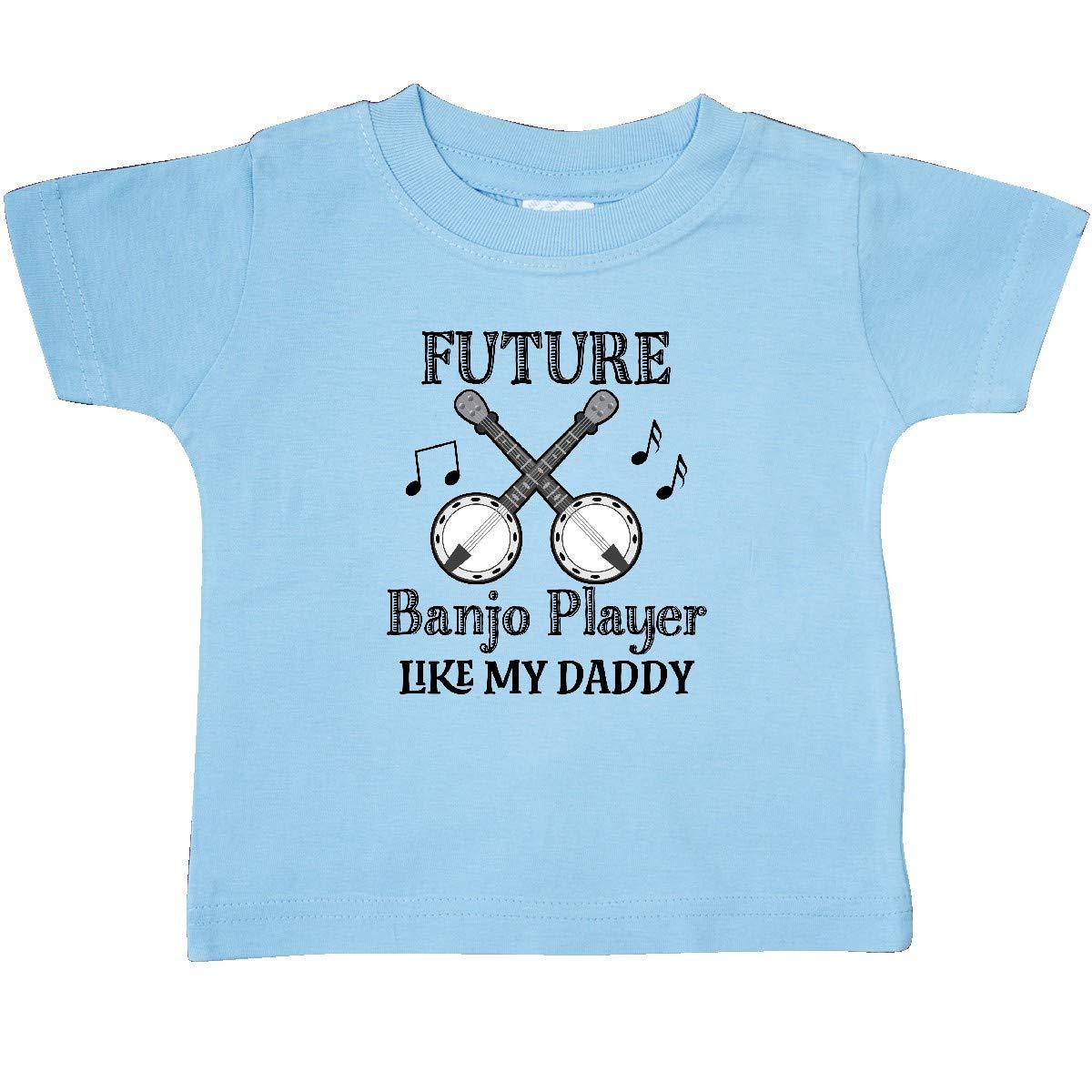 inktastic Future Banjo Player Like Daddy Baby T-Shirt