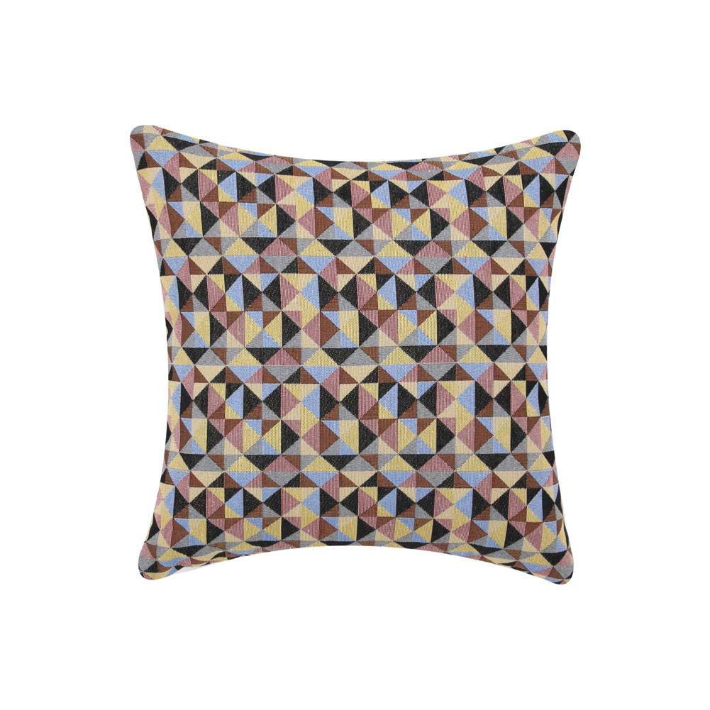 Multi-Color, 18x18 September Home Multi-Color Combined Throw Pillows Covers Classic Retro Checkers Plaids Throw Pillows Couch Bed Decorative Square Cushions Cases Pillowcases 18 x 18 Set of 2