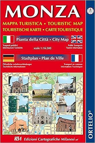 Cartina Italia Anno 500.Amazon It Monza Mappa Turistica Pianta Della Citta 1 16 500 Ediz Italiana Inglese Tedesca E Francese Libri In Altre Lingue