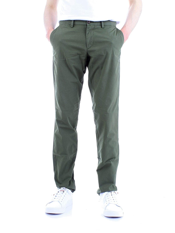 Brand Size 54 TRUSSARDI Men's 52P000001T002638green Green Cotton Pants