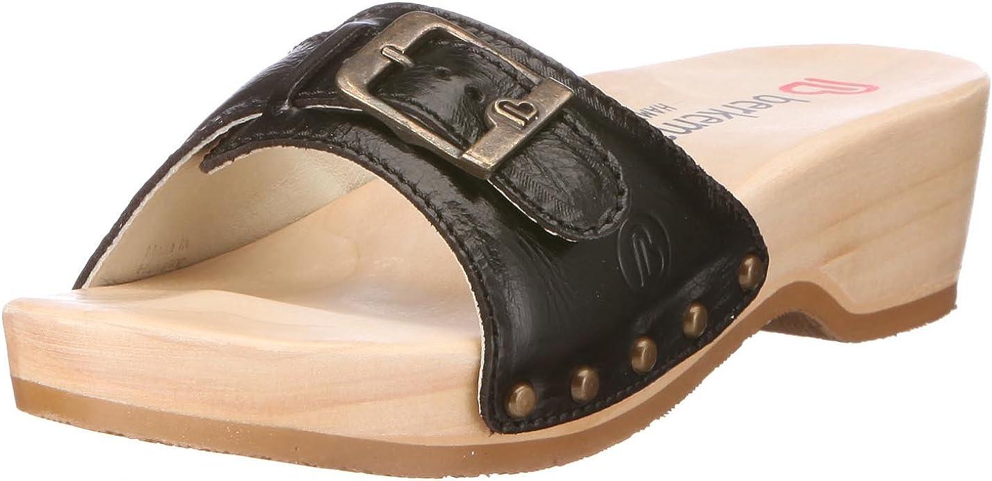 Noir//noir Chaussures femme Berkemann Melbourne Fedora washable 01080
