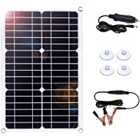 MEGSUN 18W 18V 12V Solar Panel Trickle Charger for Automobile Motorcycle Boat Tractor Power Panel Charger