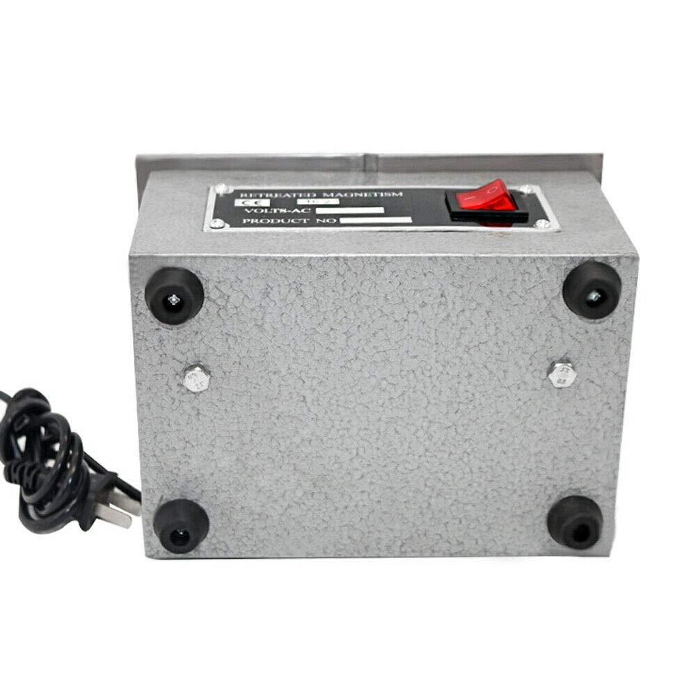TC-2 Desktop Demagnetizer Smaller Workpieces Demagnetization Degaussing Tool for Eliminating Residual Magnetization 110V Degaussing Machine