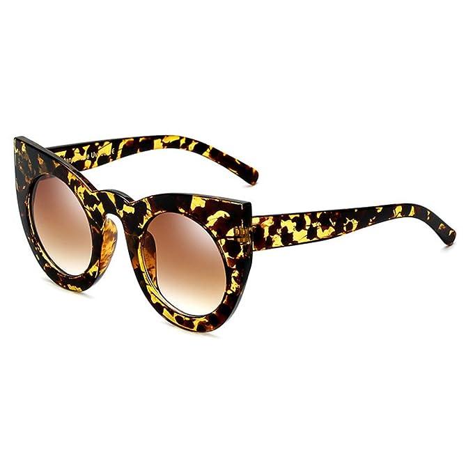 Lunettes de soleil Cat Eye Big Frame UV400 Juleya Femme Retri Vintage C6 AP34Xy