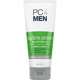 Paula's Choice PC4MEN Daytime Protect SPF 30 Moisturizer with Antioxidants, 2 oz (1 Bottle) Fragrance Free