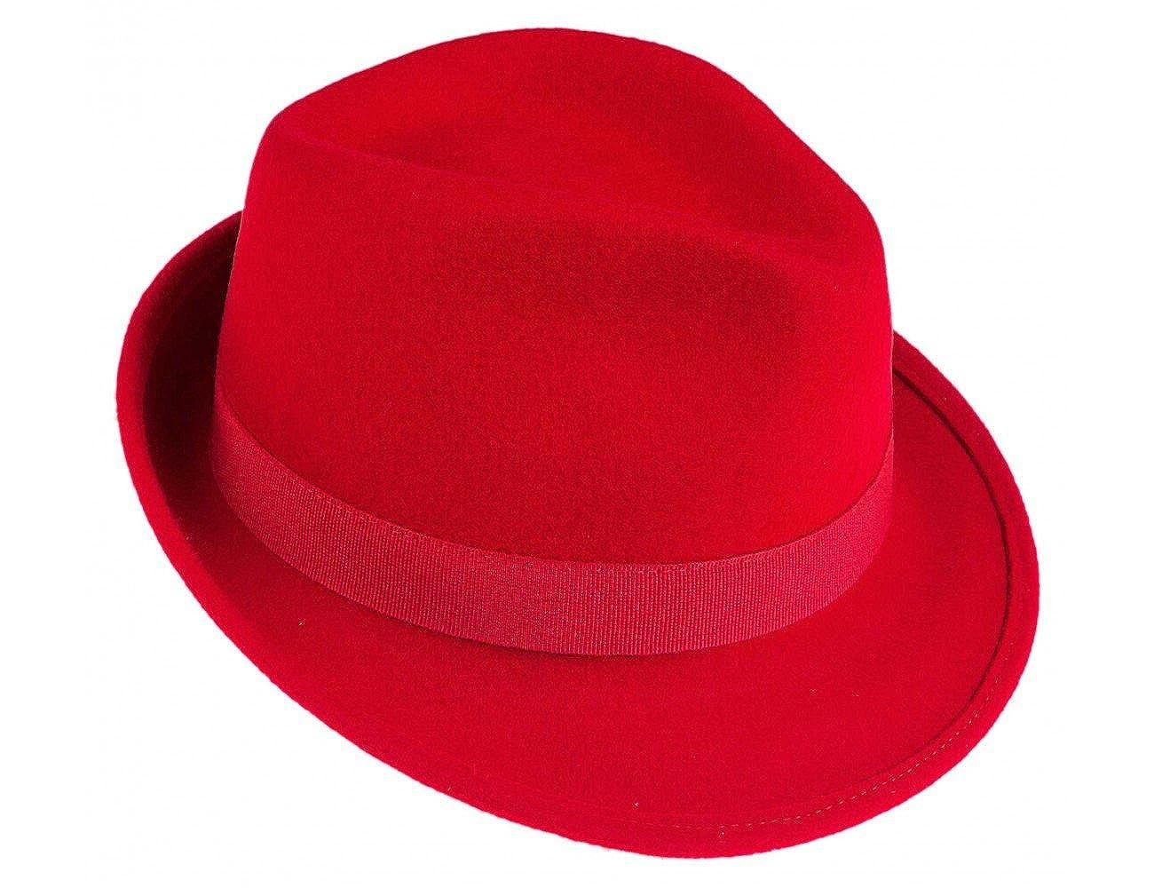 Ledatomica Cappello Donna Feltro stile Borsalino Jonathan