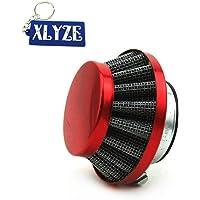 XLYZE Rojo 35mm Filtro de aire limpiador
