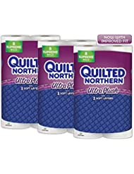 Quilted Northern Ultra Plush Septic-Safe Toilet Paper, 24 Sup...