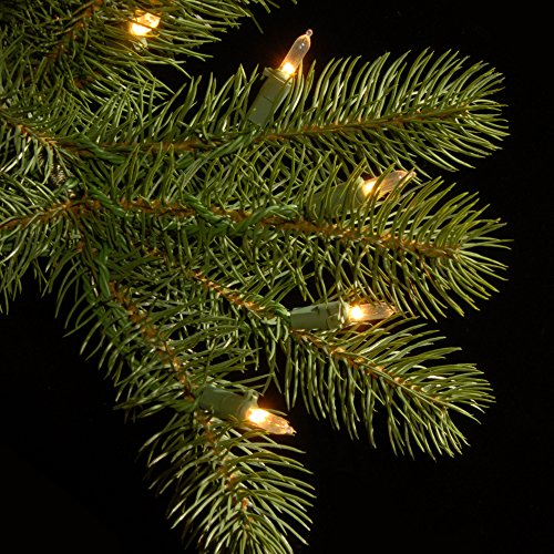 National Tree 6.5 Foot ''Feel Real'' Downswept Douglas Fir Tree with 650 Clear Lights, Hinged (PEDD1-312-65) by National Tree Company (Image #2)