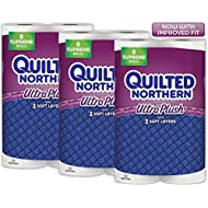 Quilted Northern Ultra Plush Toilet Paper, 24 Supreme...