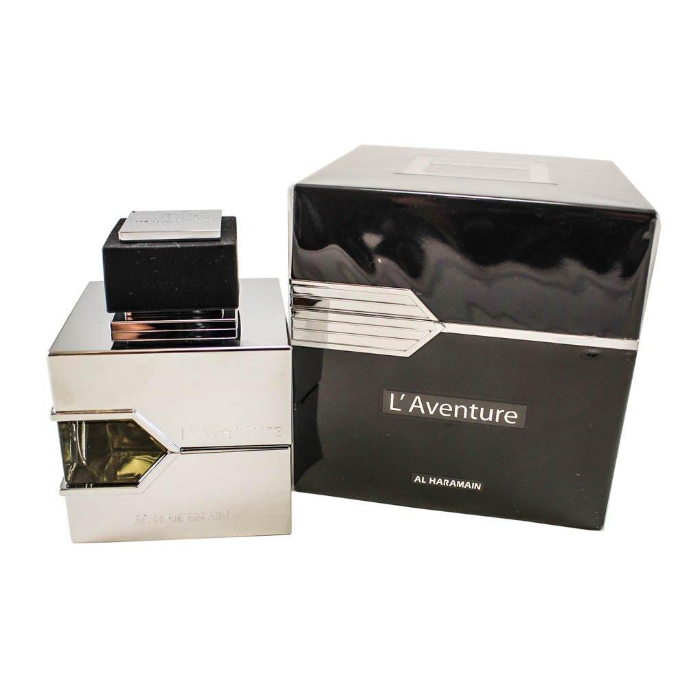 Best Arabian Perfume Brands - Al Haramain L'Aventure Eau de Parfum For Men, 3.33 Ounce (100 ml) - For Creed Aventus Lovers