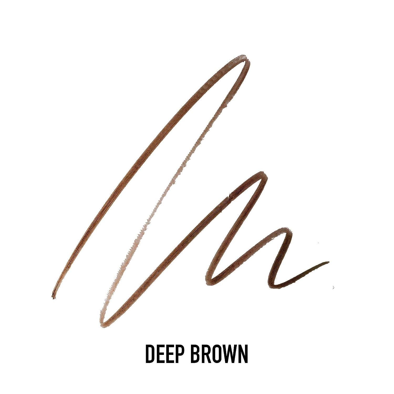 Max Factor Brow Shaper Pencil for Women, 30 Deep Brown, 0.1 Ounce
