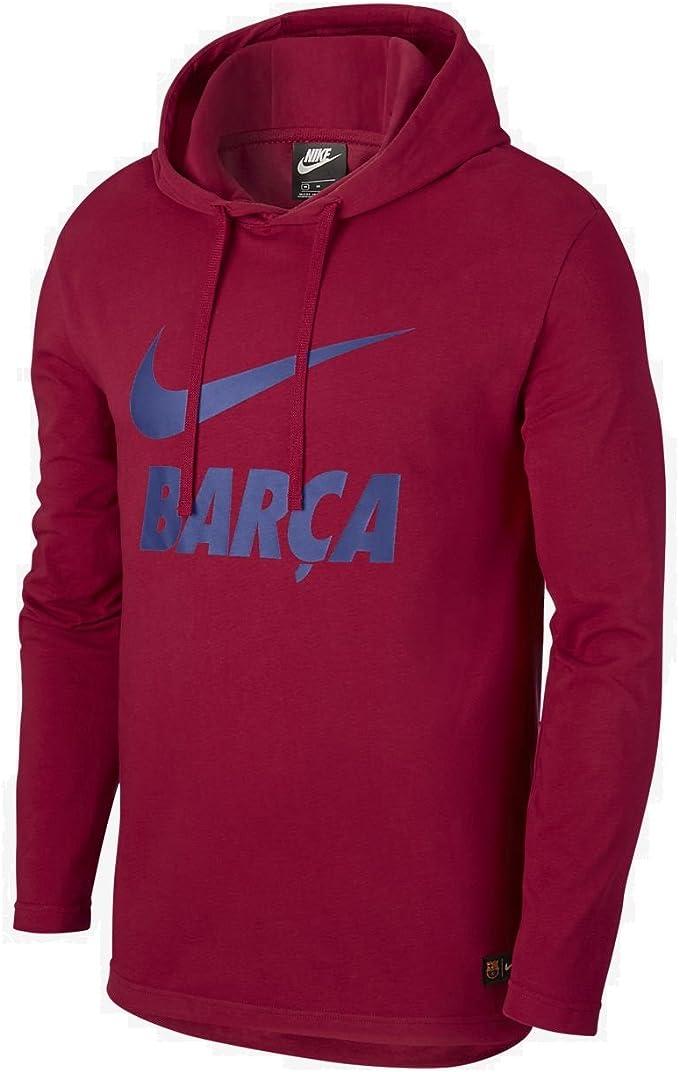 Nike Men's Fc Barcelona Hoodie: Amazon