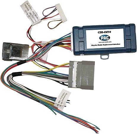 Pac C2r Chy4 Can Bus Adapter Für Chrysler Dodge Jeep Mit Verstärker Navigation