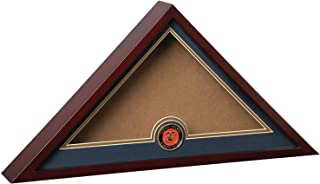 product image for Flag Connections US Marine Corps Internment American Burial Flag Display Case with Official Marine Corps Medallion