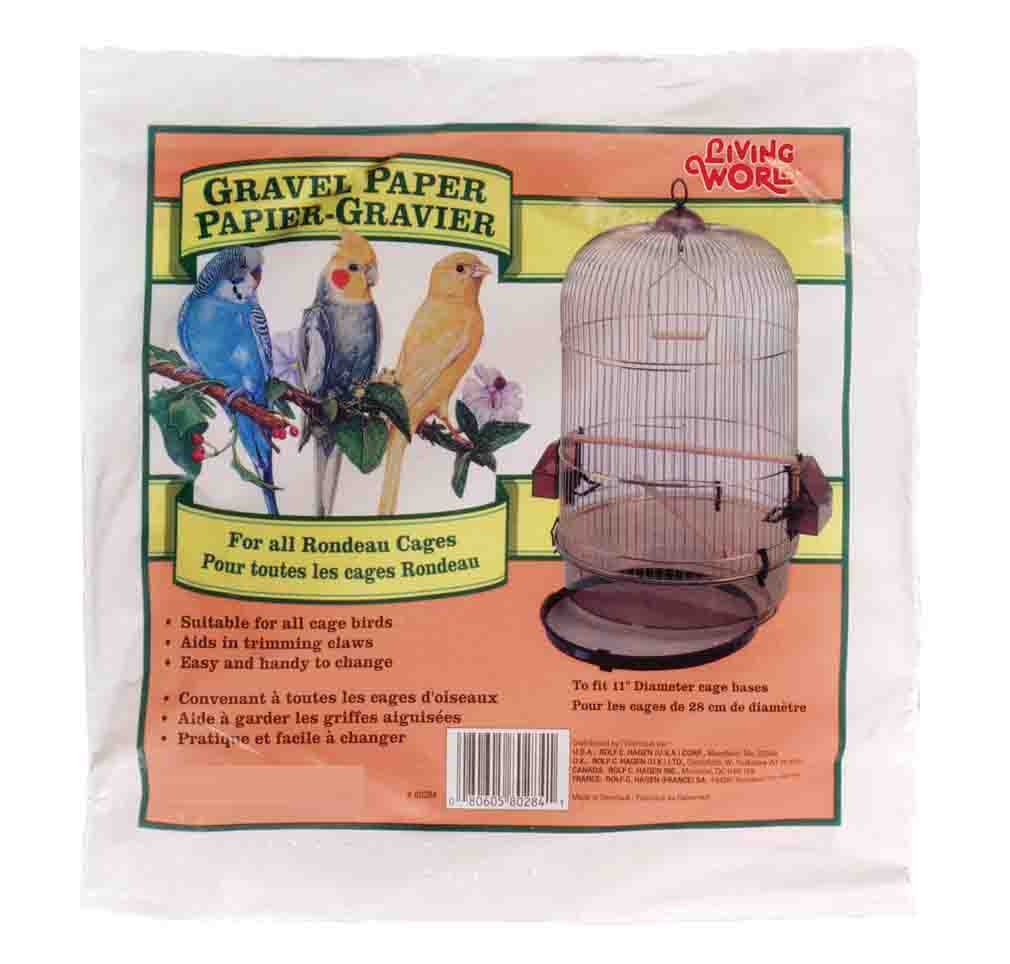 Living World Gravel Paper, Round 11-Inches, 8-Pack 80284