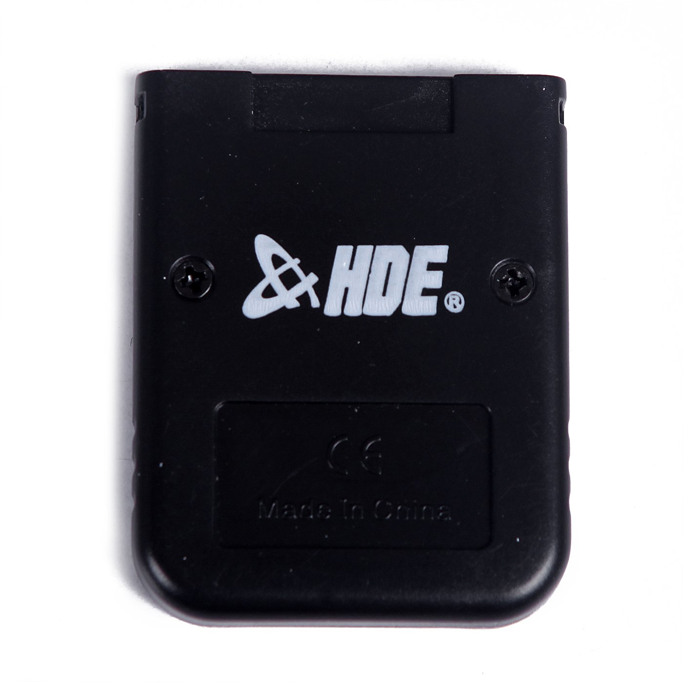 HDE 128MB (2048 Blocks) Black Memory Card for Nintendo GameCube or Wii