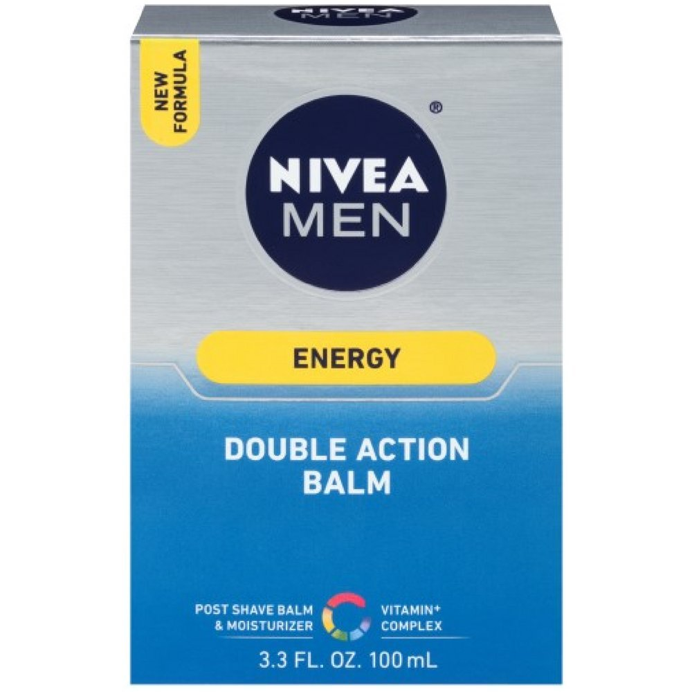 NIVEA FOR MEN Energy, Double Action Balm 3.30 oz
