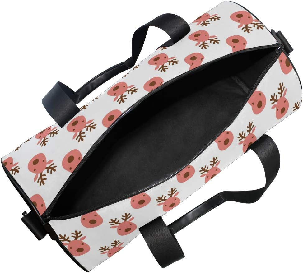 MALPLENA Davids Deer Drum gym duffel bag women Travel Bag