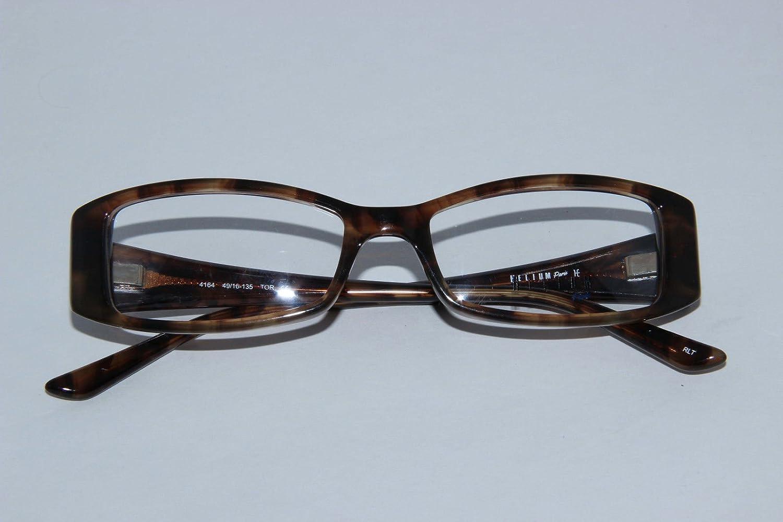 Amazon.com: Helium Paris Womens Eyeglasses 4164 Tortoise Optical ...