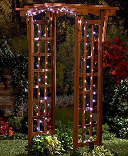 100-Light Solar String Lights