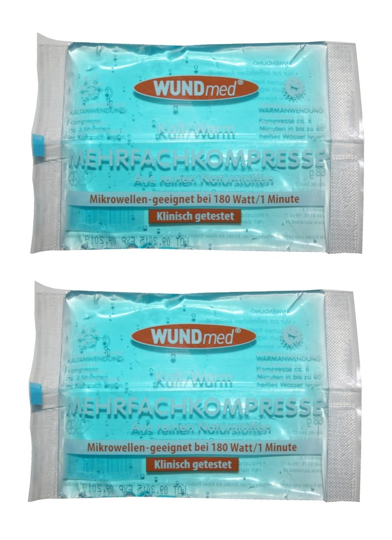 múltiples compresa compresa Gel Cojín de frío y calor 2pieza (0000) Wundmed