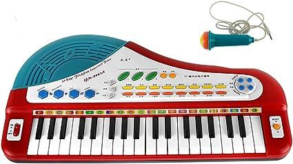 XXHDYR Micrófono de simulación pequeño Piano música Juguete ...