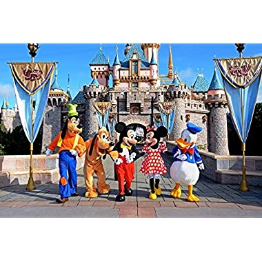 3 adult Tickets 3 Day Hopper Disneyland Anaheim Los Angeles JULY AUGUST SEPTEMBER