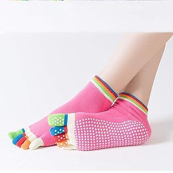Calcetines de Yoga para Hombres y Mujeres Calcetines de Yoga ...