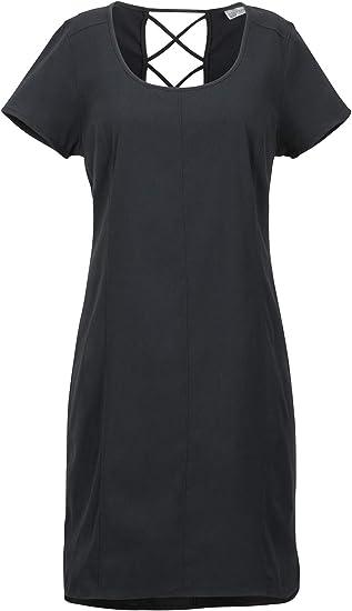 Imagen deMarmot Wm's Josie Dress Vestido Largo con Mangas Cortas, protección UV, Transpirable, Secado rápido Mujer