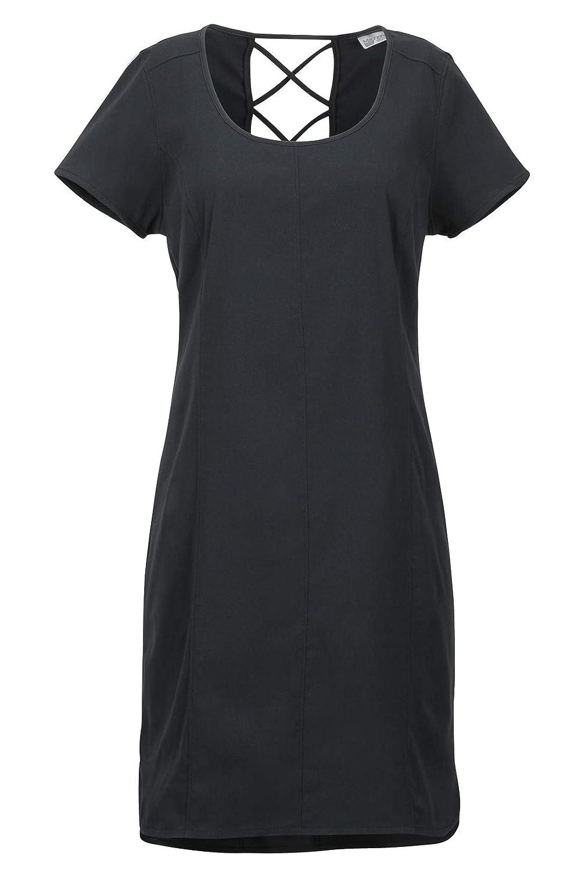 Vestido Largo con Mangas Cortas Transpirable protecci/ón UV Marmot Wms Josie Dress Secado r/ápido Mujer