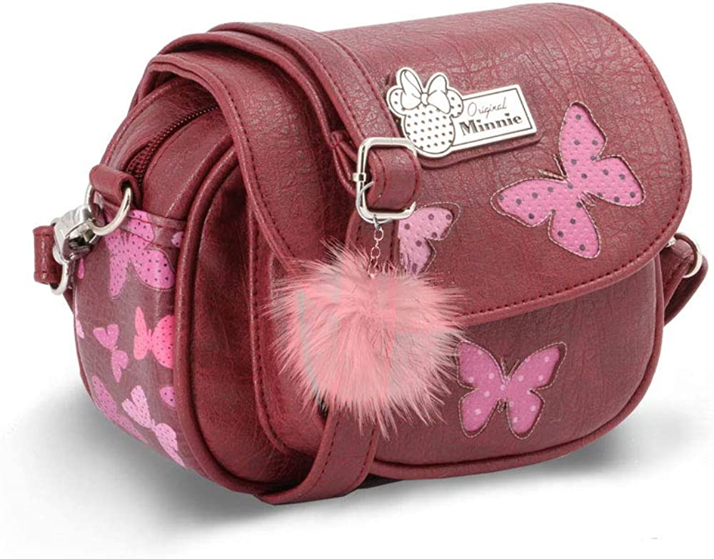 Rosso Borsa Messenger Marfly 33 cm Karactermania Minnie Mouse Marfly-bolso Tote grande