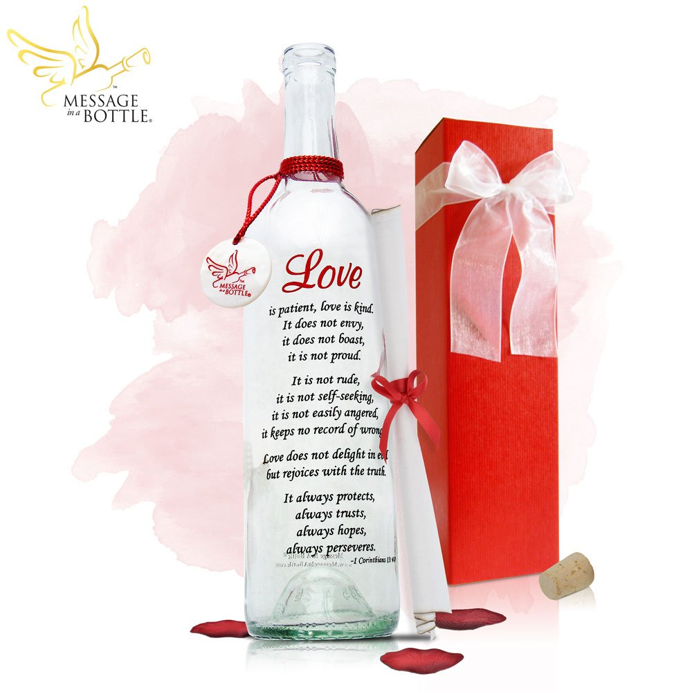 Message In A Bottle ® ''LOVE'' Personalized Gift for Him or Her by Message In A Bottle ®