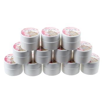 TOOGOO(R) Kit de 12 Esmalte Unas Gel UV para Decoracion Manicura Unas Postiza