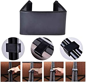 Outdoor Patio Wicker Furniture Clips, Multifunction Sectional Sofa Rattan Furniture Connectors Chair Fasteners (Medium Size - 10PCS)