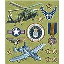 K&Company Air Force Sticker Medley