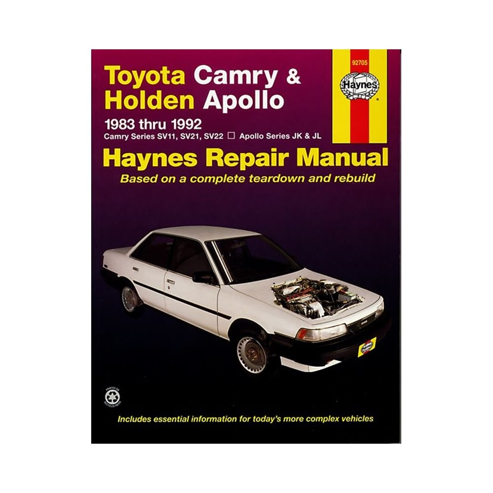 Toyota Camry & Holden Apollo (83 - 92): Mike Forsythe, J. H. Haynes:  9781563922527: Books - Amazon.ca