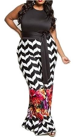 1bd1bcce65e3 Amazon.com  L Diva Couture Boutique Women s Black Floral Jumpsuit ...